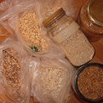 variety of grains used in granola