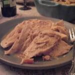 roast turkey on plate