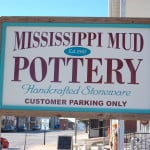 Mississippi Mud Pottery Sign