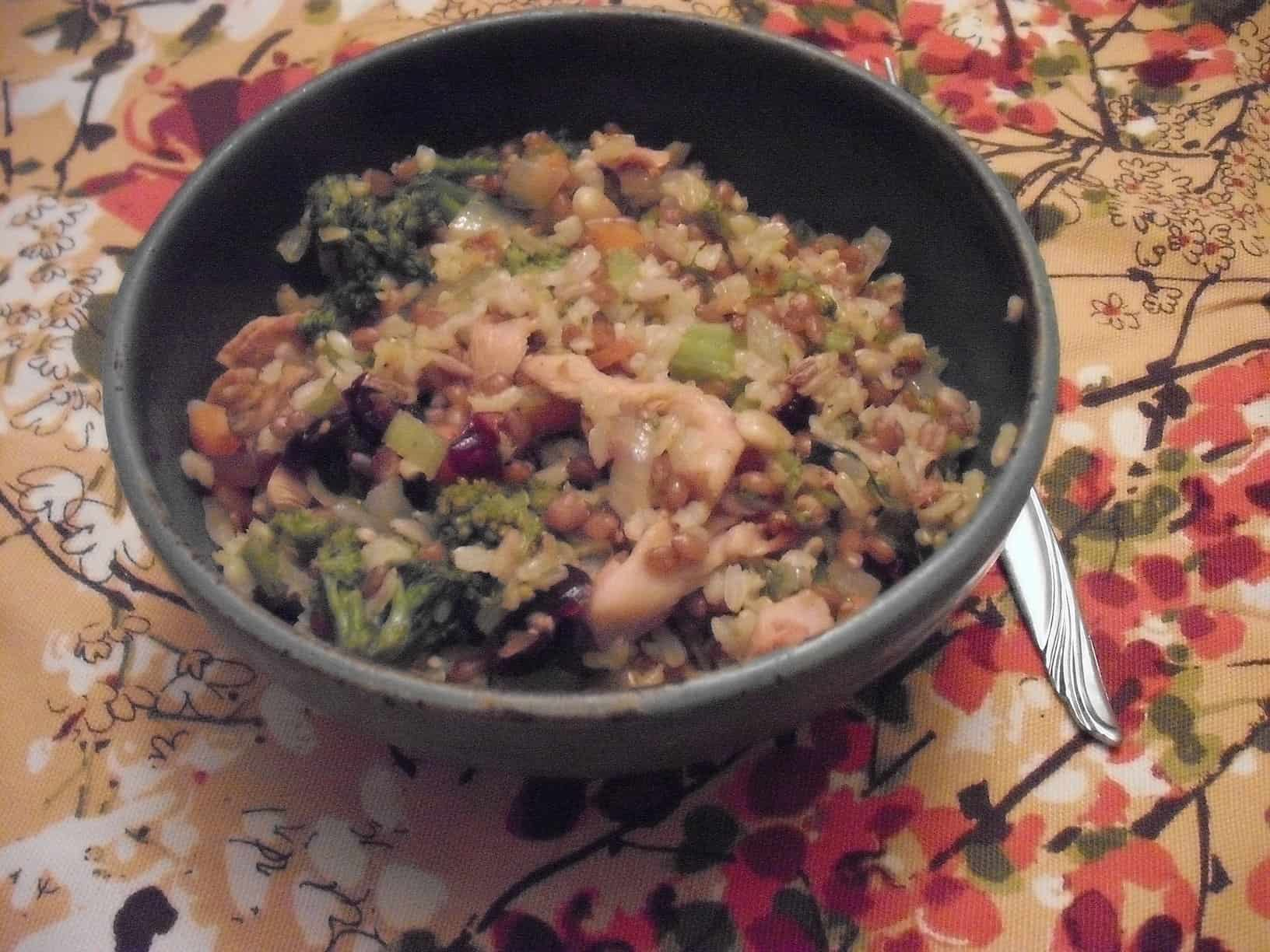Winter Wheat-Berry Bake: A Vegan Protein Powerhouse