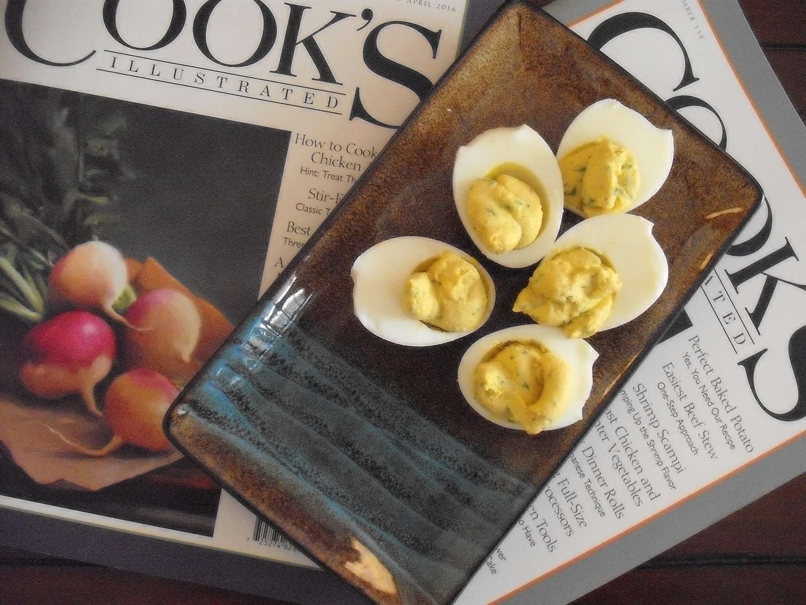Curry Deviled Eggs from Cook's Illustrated