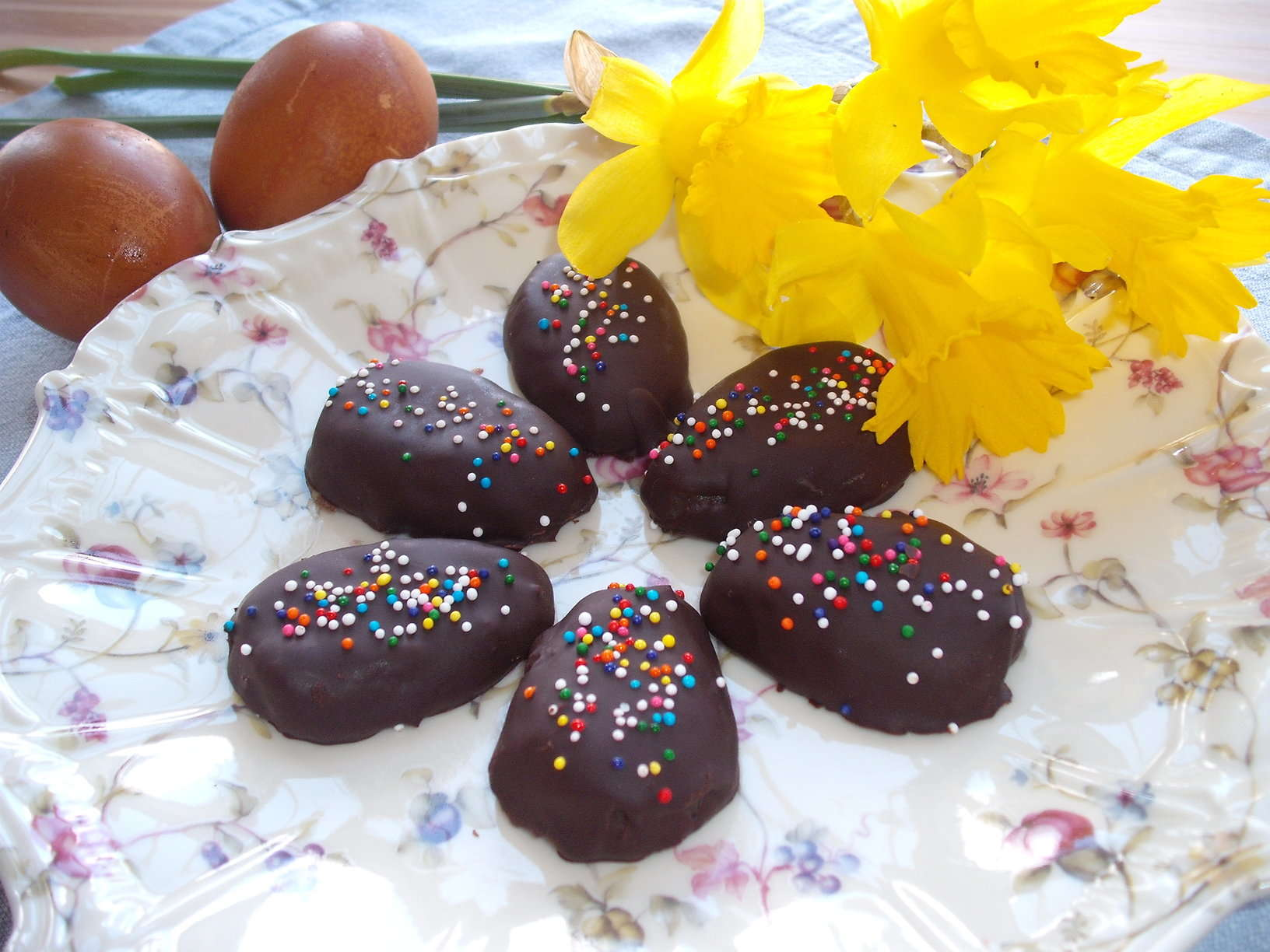 Double Chocolate Peanut Butter Easter Eggs