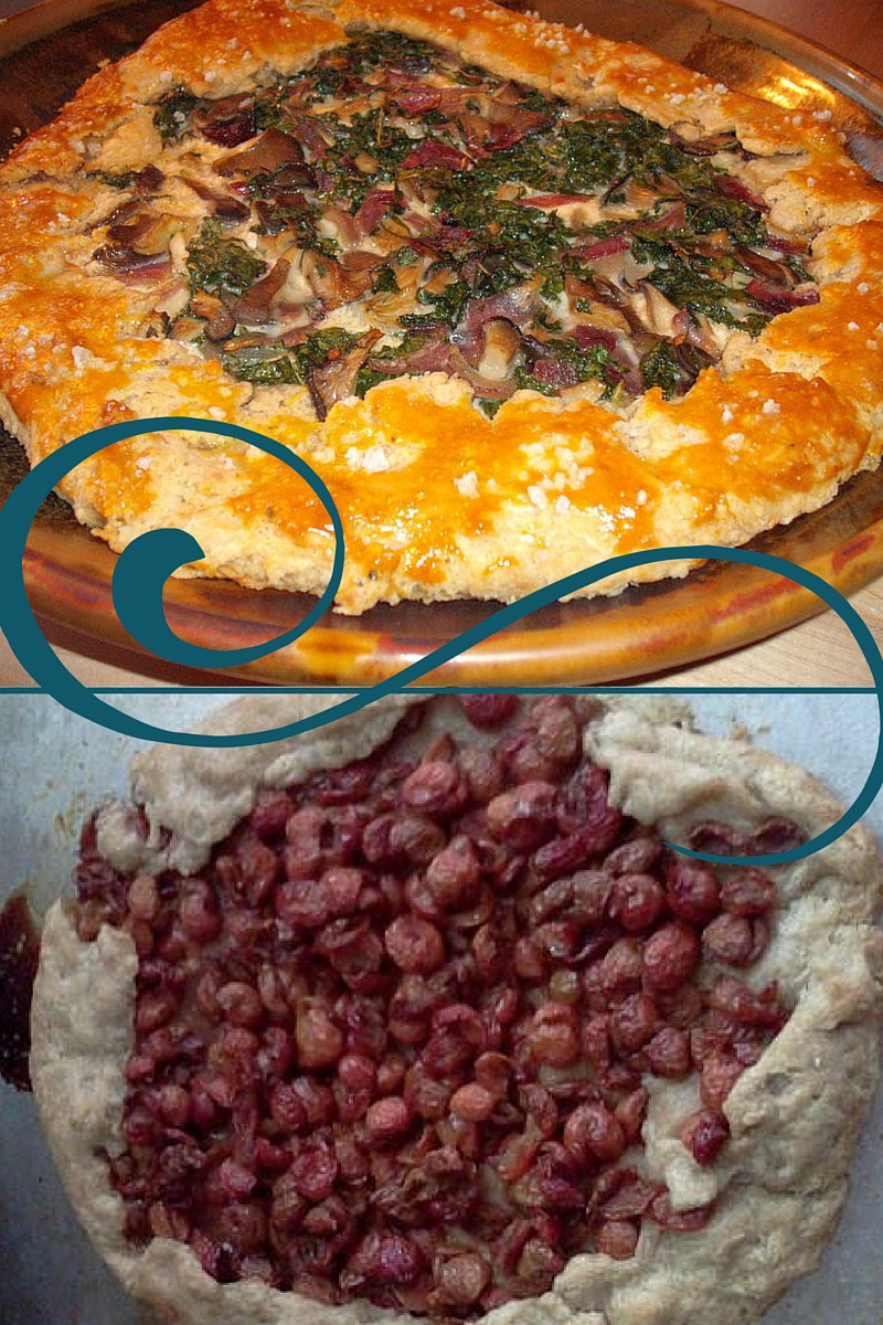 Tart Times Two: Rustic Mushroom and Classic Cherry