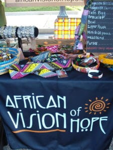 African Vision of Hope merchandise