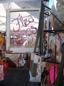 Flea Bags display