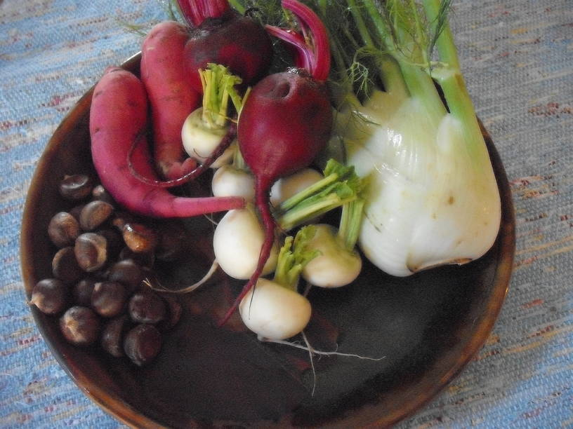 Rooting Out Flavor and Balance with Sweet Potatoes, Beets and Turnips