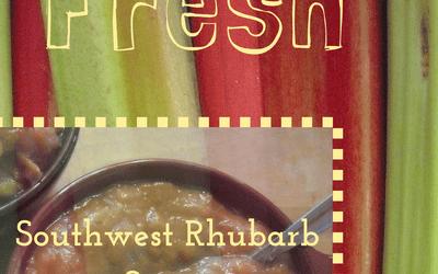 Southwest Rhubarb Sauce