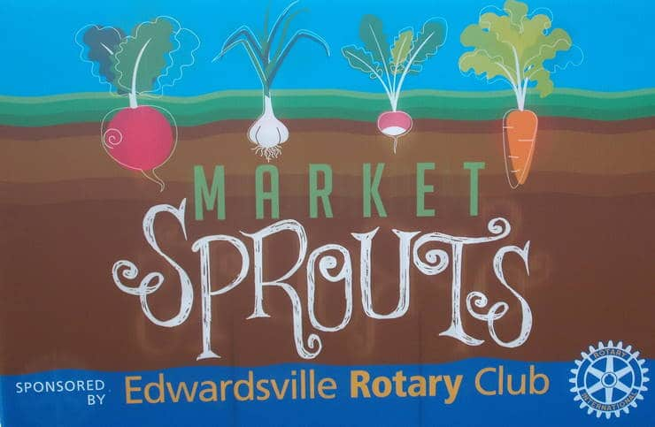 Market Sprouts sign