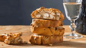 stack of biscotti