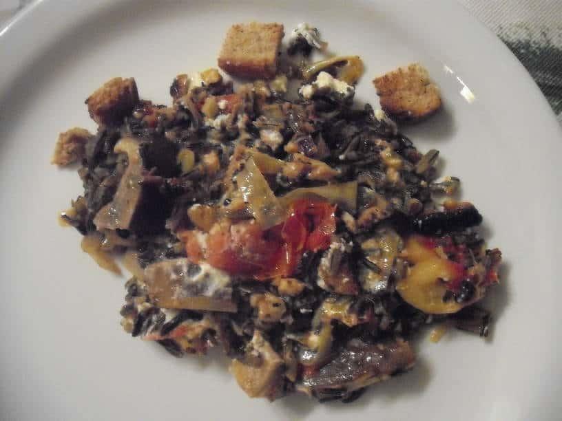 Mushroom and Wild Rice Casserole