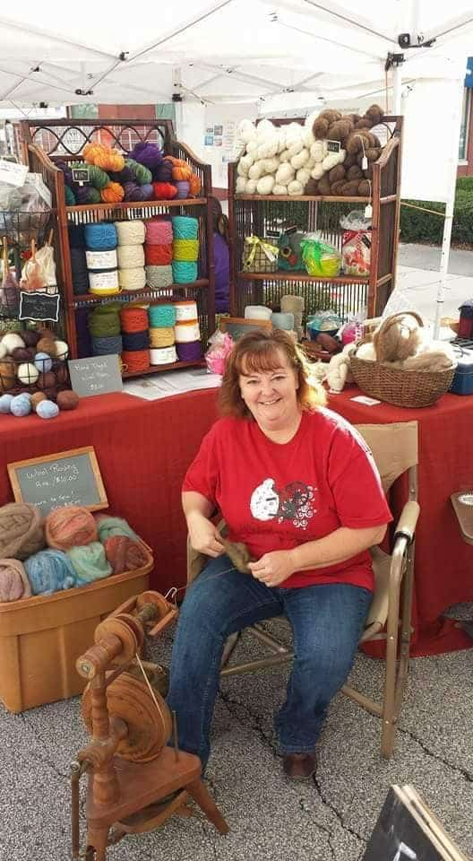 Tracy at the Goshen Market