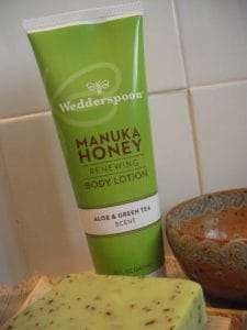 Wedderspoon Manuka Honey lotion