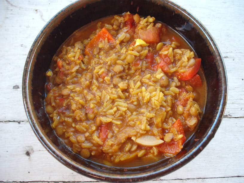 Lemongrass Lentil Curry