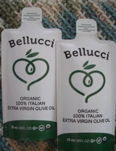 Bellucci Olive Oil packets