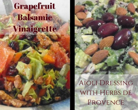 Two Salads with Dressing: For the Love of Real Food