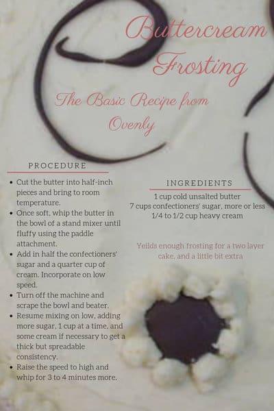 Recipe for Ovenly's Basic Buttercream Frosting