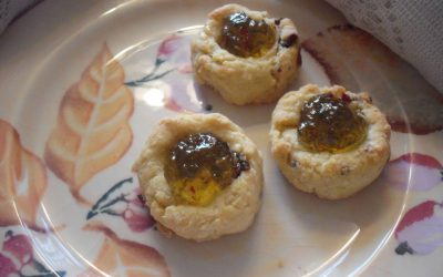 Bacon-Cheddar Shortbreads with Jalapeño Jelly