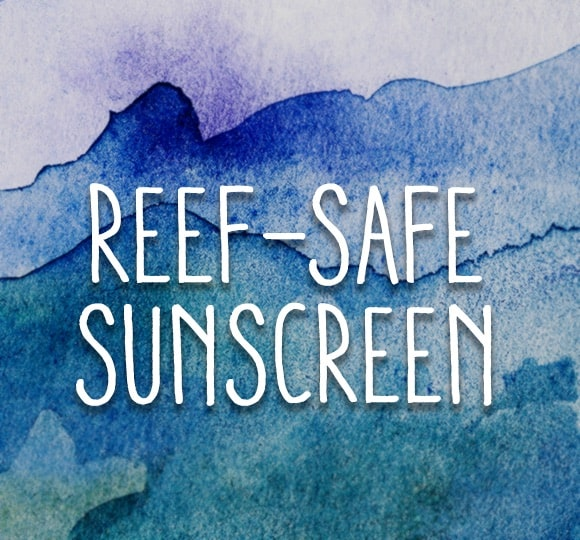 Reef-Safe Sunscreen Graphic
