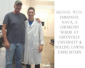 Michael Turley with Emmanual Nava