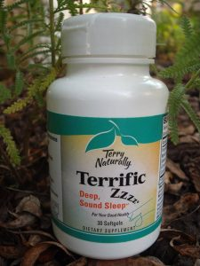 Bottle of Terry Naturally Terrific ZZZ