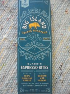 Box of Big Island Coffee Roasters Espresso Bites