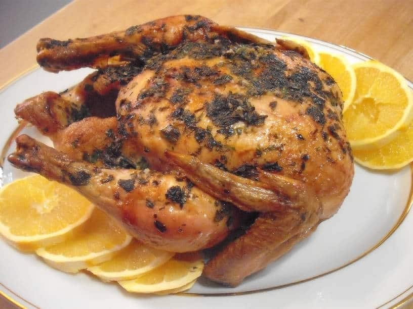 Whole Roasted Scarborough Chicken