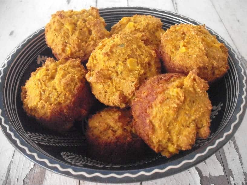 Gotta Love These Pumpkin, Corn & Sage Muffins