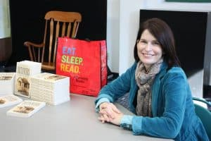 LuAnn Locke, owner of Afterwords Books