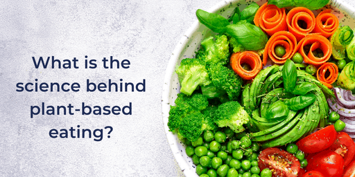 Graphic from New Hope Network: What is the science behind plant-based eating?