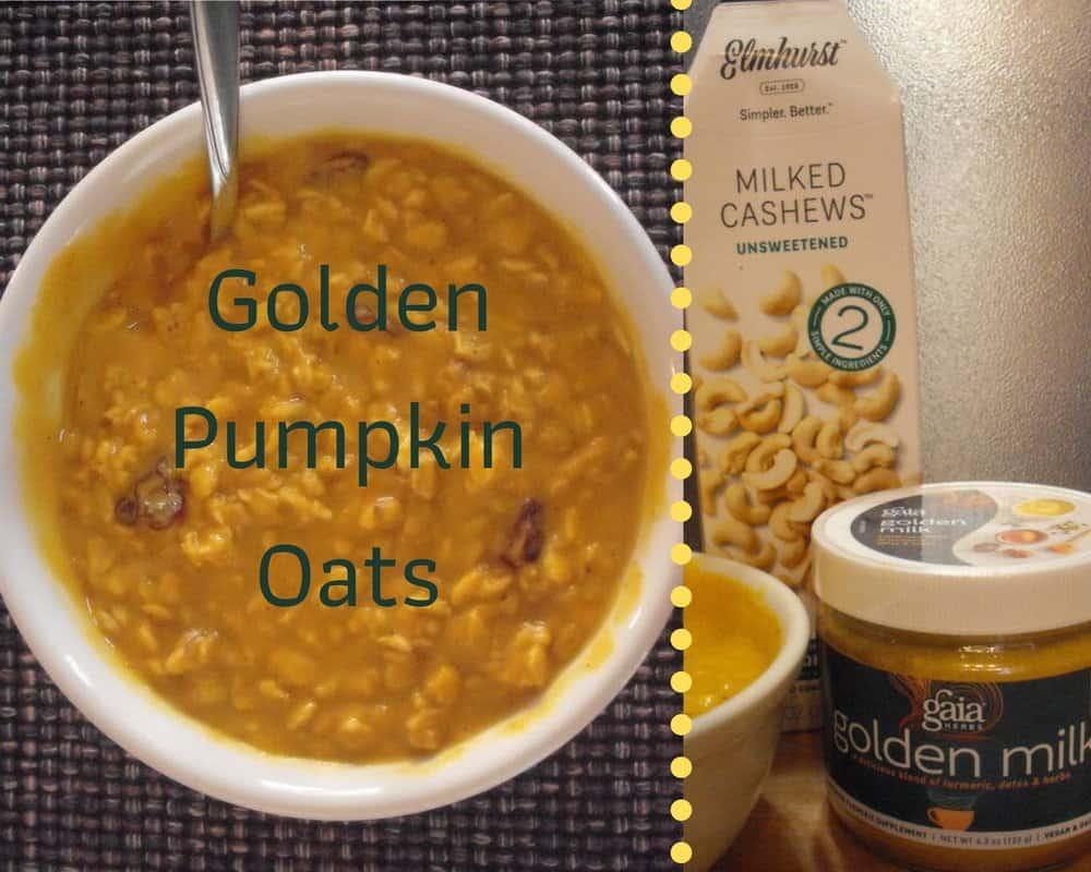 Golden Pumpkin Oats