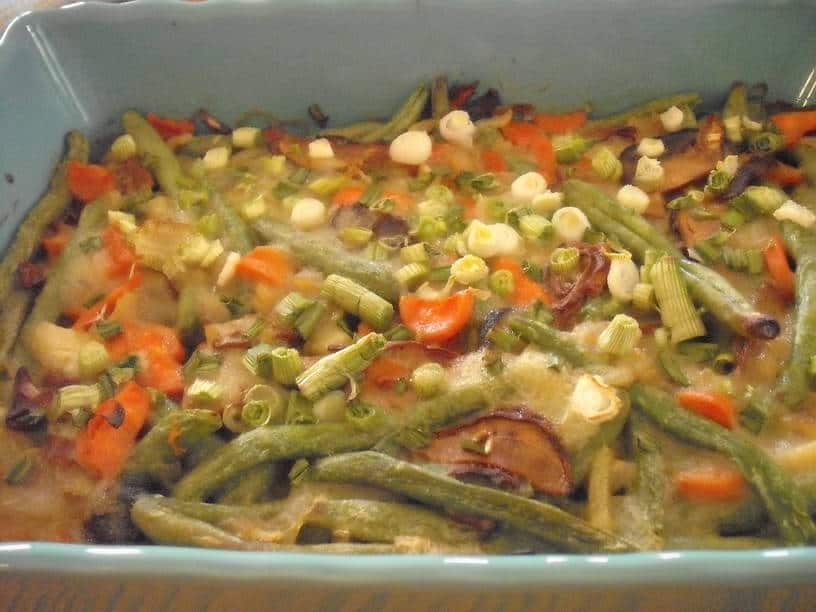 Cleaning Out the Deep Freeze: Or How I Turned a Green Bean Casserole Magnifique!