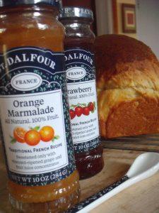 St. Dalfour Orange Marmalade and Strawberry Spread