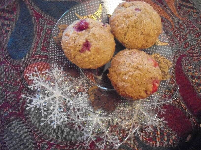 The Fresh Cranberry-Orange Christmas Muffin