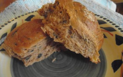 Cheddar Rye Rolls with Stinging Nettles
