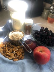 ingredients for Overnight Goat Oats