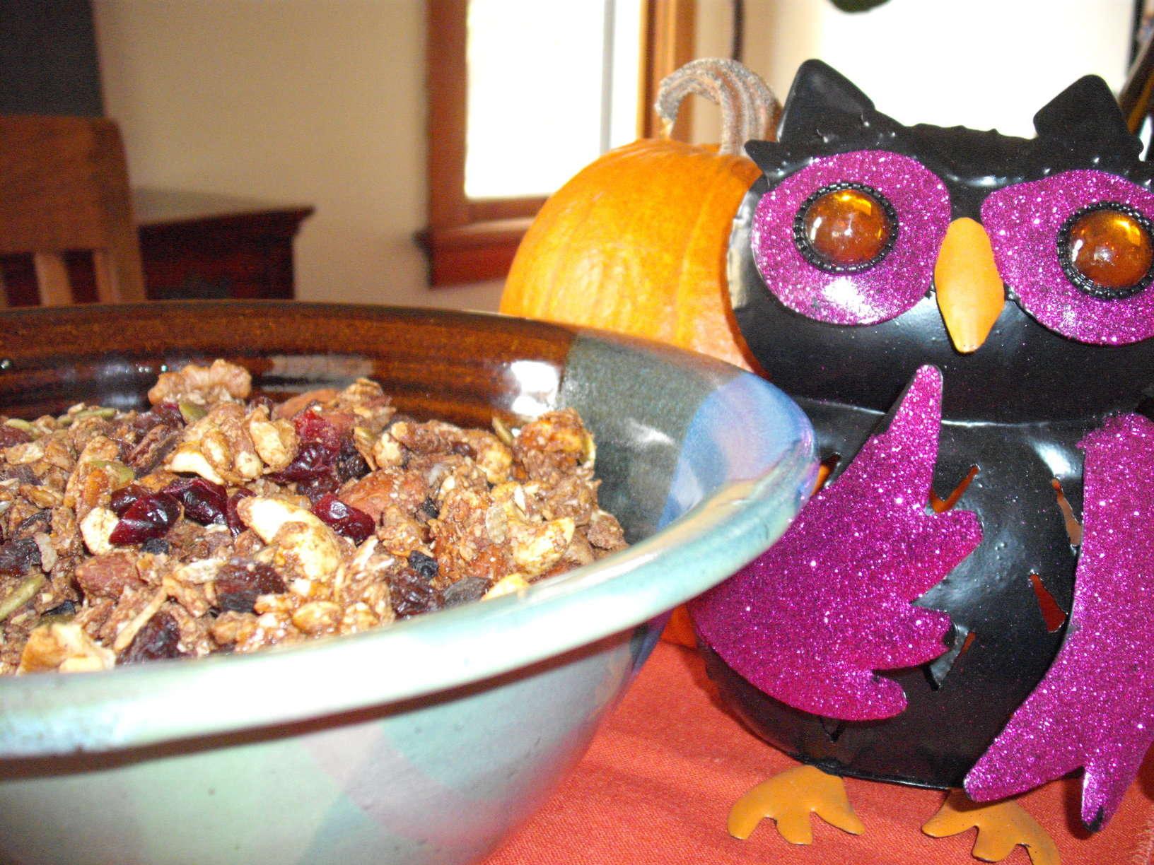 Green Gal Goblin Granola: A Wise Halloween Treat