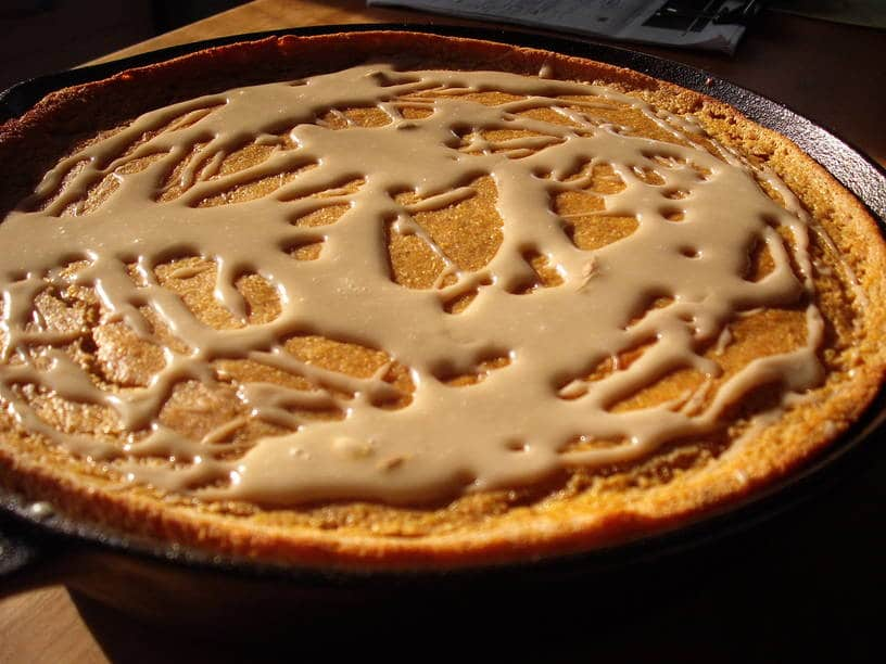 Stuffed Skillet Cornbread: The Ultimate, Easy Coffeecake for that Spring Brunch