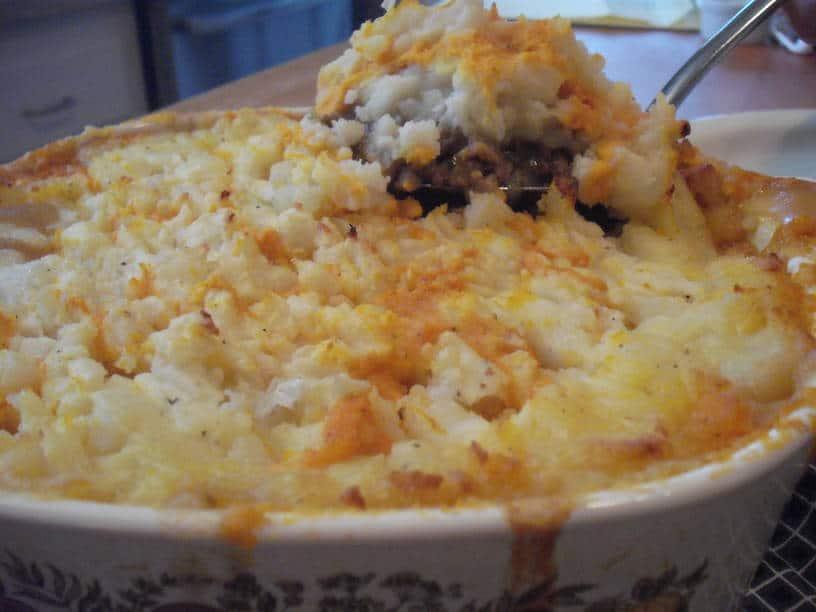 Almost-Classic Shepherd's Pie