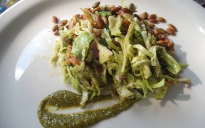 Cabbage with a Kick Salad