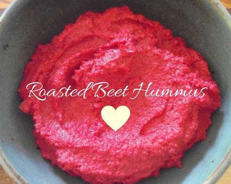 Roasted Beet Hummus