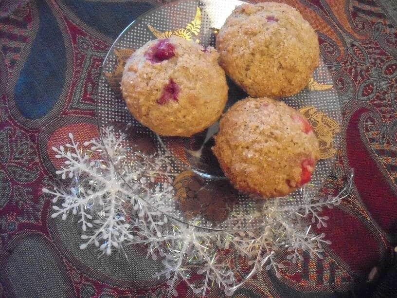 The Fresh Cranberry-Orange Christmas Muffin