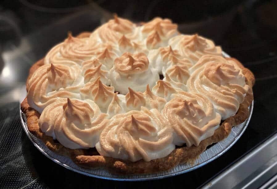 Grandma's Chocolate Custard Pie